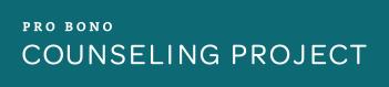 Pro Bono Counseling Project Logo