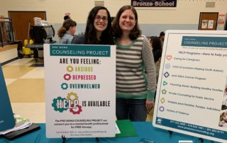 Jessica and Amy at Mental Wellness Fair